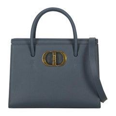 Dior Women's Handbag Navy St. Honorè Leather