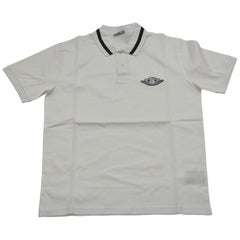 DIOR X Air Jordan  Polo White Shirt  NEW With Tags  Size M