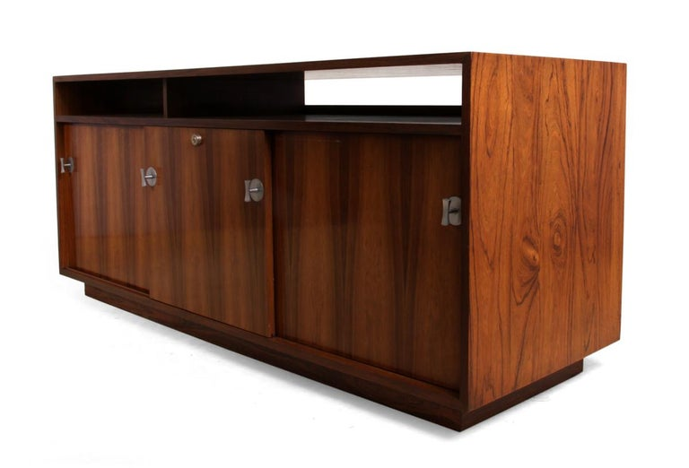 Diplomat Sideboard in Rosewood by Finn Jhul For Sale 4