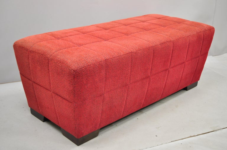 Red upholstered 56
