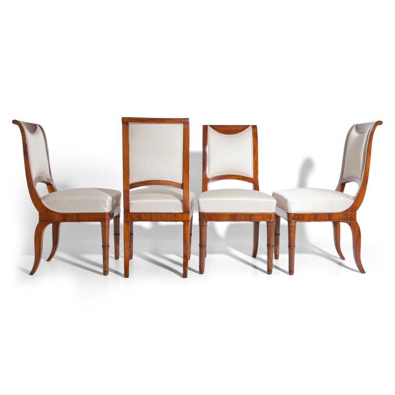 French Directoire Chairs, France, 19th Century For Sale