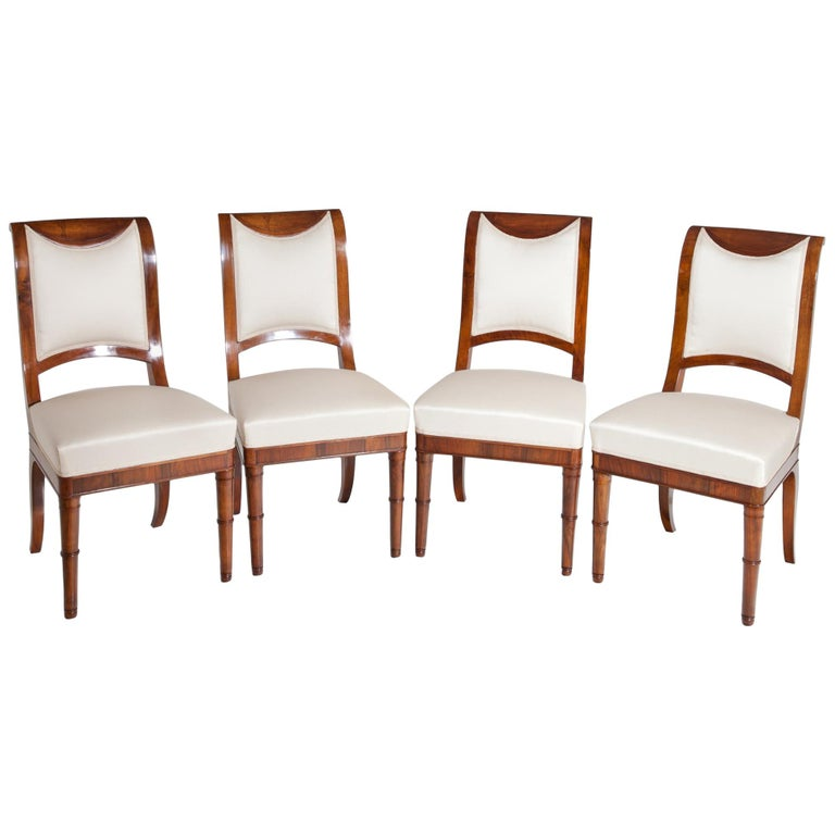 Directoire Chairs, France, 19th Century For Sale