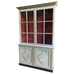 Directoire Painted Bookcase, circa 1800