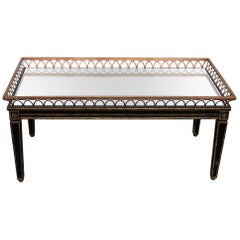 Directoire Style Coffee Table