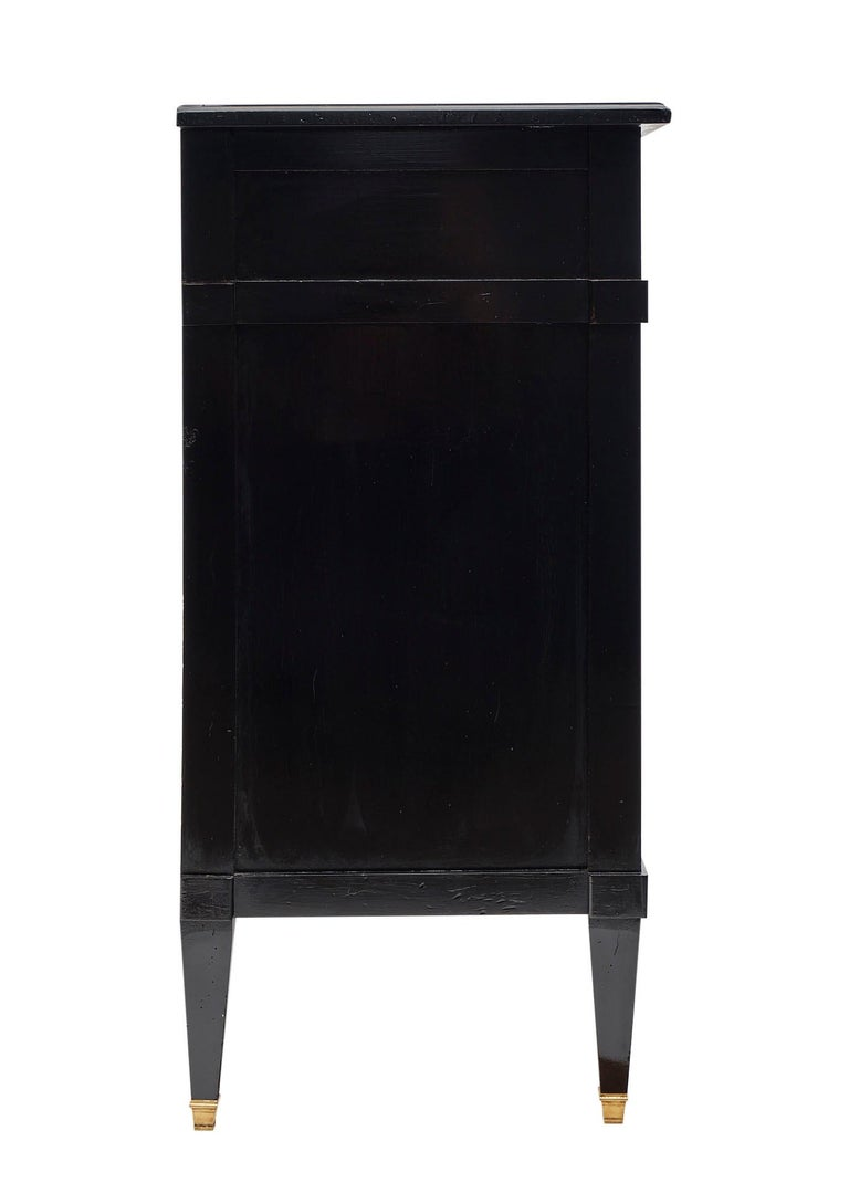 Directoire Style French Antique Ebonized Buffet For Sale 3