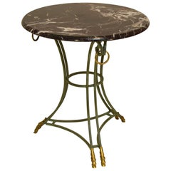 Directoire Style Gueridon Occasional Table