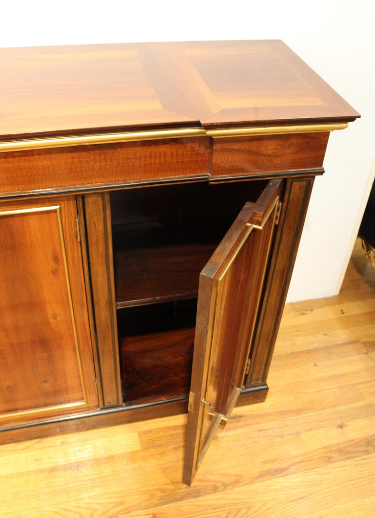 Directoire Style Mahogany Sideboard For Sale 8