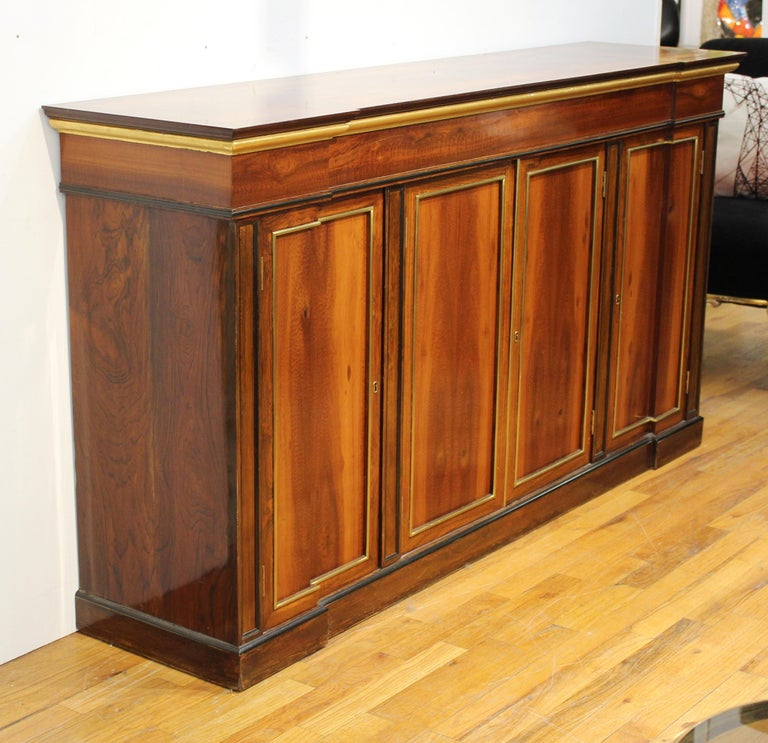 European Directoire Style Mahogany Sideboard For Sale