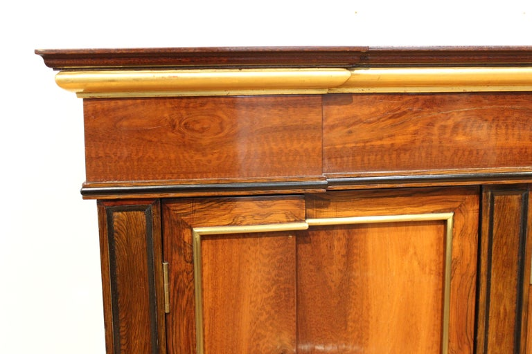 20th Century Directoire Style Mahogany Sideboard For Sale