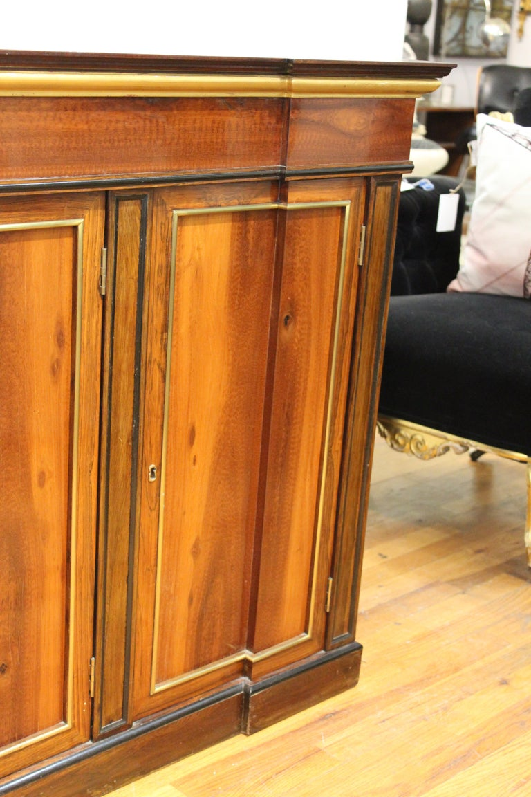 Directoire Style Mahogany Sideboard For Sale 3