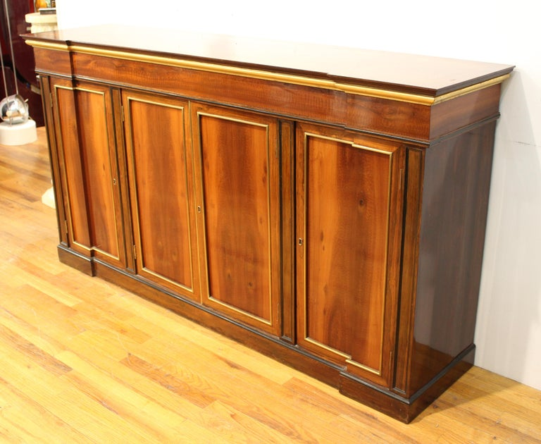 Directoire Style Mahogany Sideboard For Sale 4