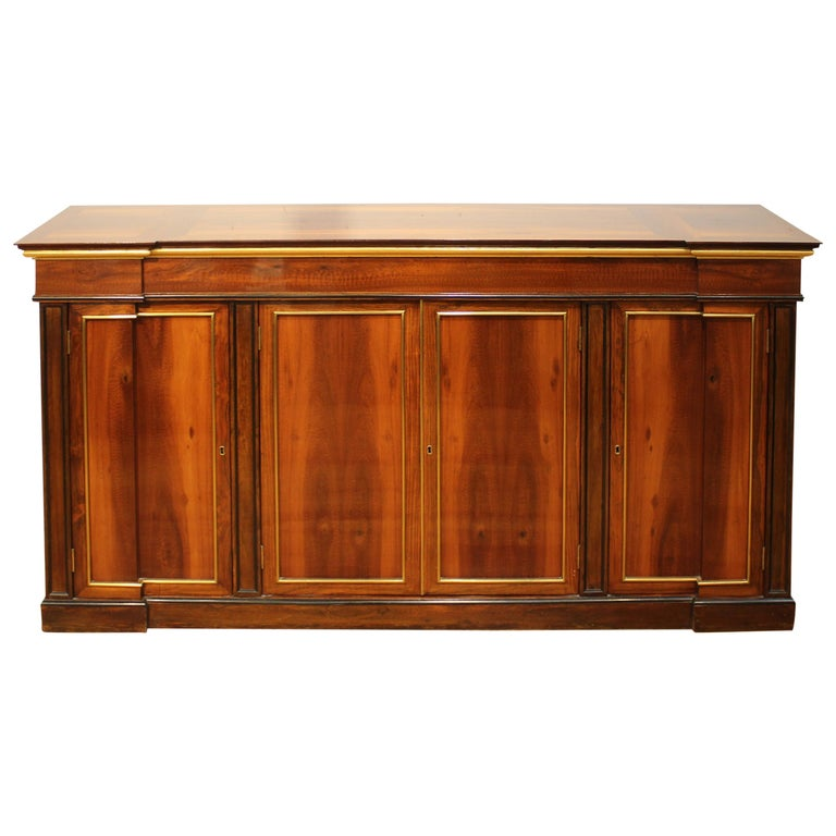 Directoire Style Mahogany Sideboard For Sale