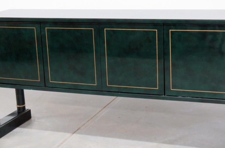 French Directoire Style Sideboard Attributed to Maison Jansen For Sale