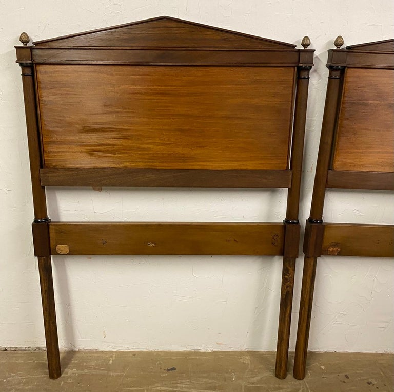 Directoire Style Twin Headboards For Sale 3