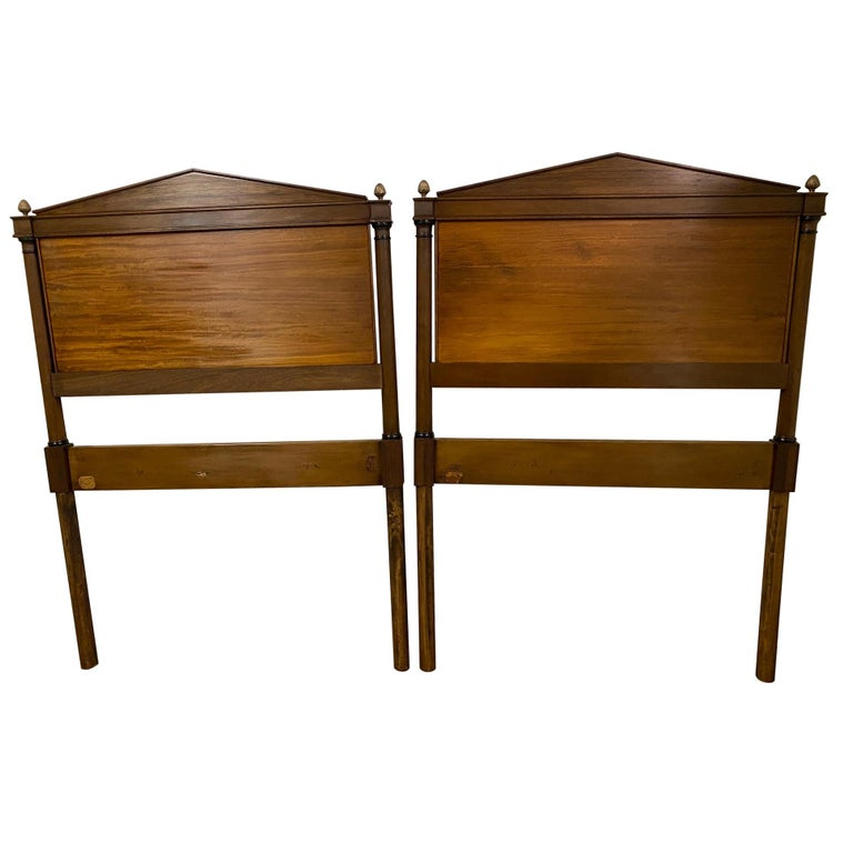 Directoire Style Twin Headboards For Sale