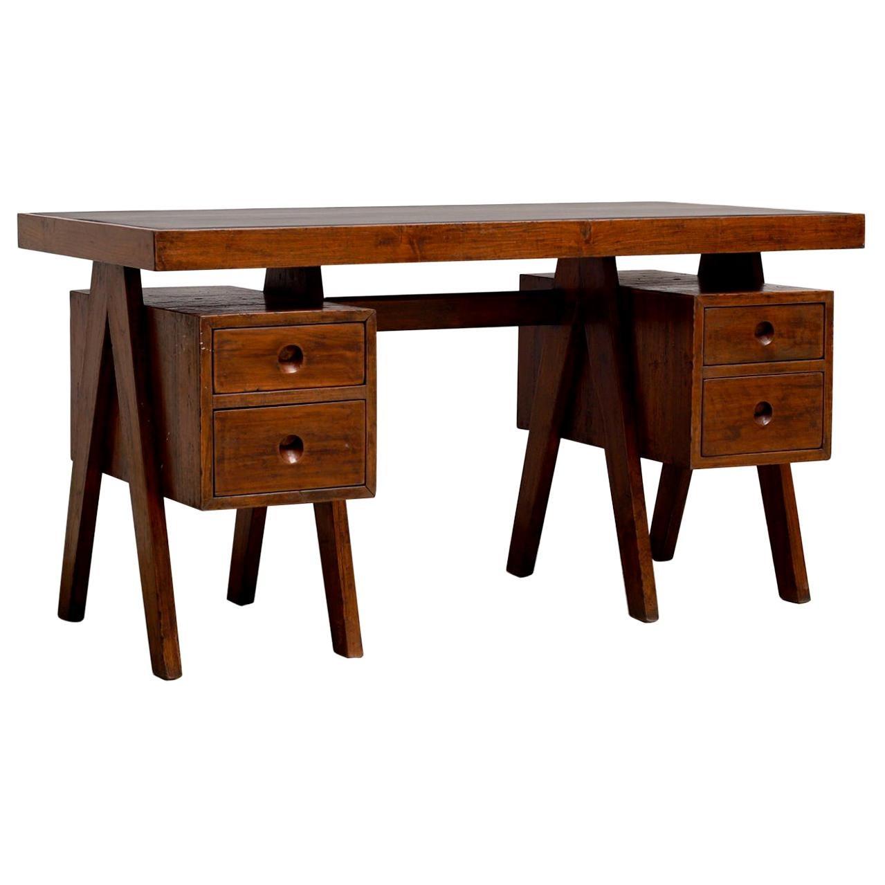 Director's Desk by Pierre Jeanneret, 1960s