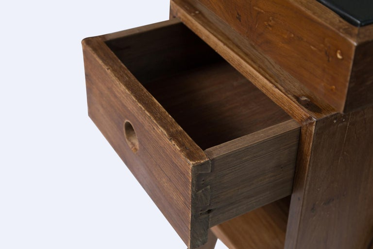 Director's Desk by Pierre Jeanneret In Good Condition For Sale In LOS ANGELES, CA