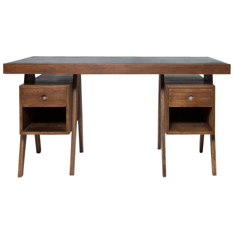 Director's Desk by Pierre Jeanneret For Sale