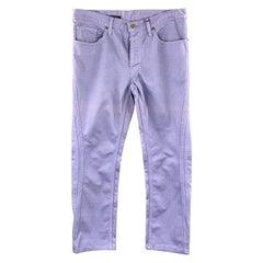 DIRK BIKKEMBERGS Size 30 Lavender Purple Double Seam Jeans