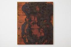 """Dirk De Bruycker """"Bleeding Icon I I I"""" Abstract Painting, 1996"""