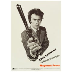 Dirty Harry 'Magnum Force' Original Vintage Movie Poster, American, 1973