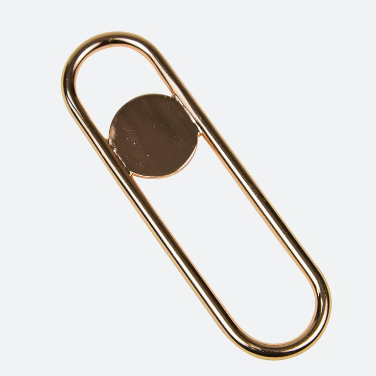Chinese Disco Bottle Opener from Souda, Brass For Sale