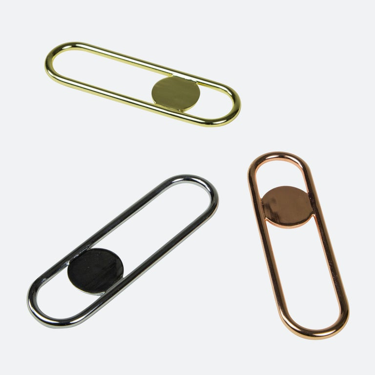 Contemporary Disco Bottle Opener from Souda, Brass For Sale