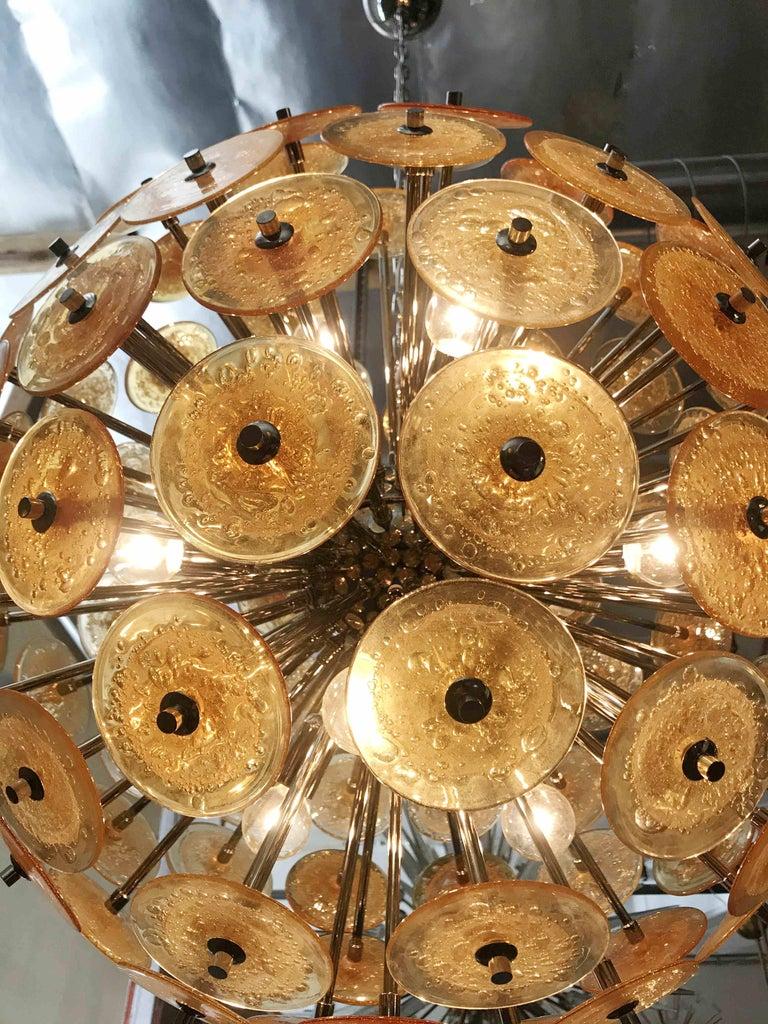 Disco Sputnik Chandeliers by Fabio Ltd For Sale 1