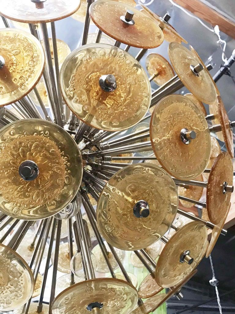 Disco Sputnik Chandeliers by Fabio Ltd For Sale 2