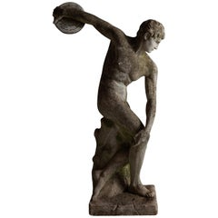 Discobolus Statue
