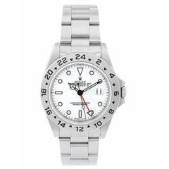 Rolex Stainless Steel Explorer Automatic Wristwatch Ref 16570