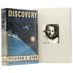 Discovery the Story of the Second Byrd Antarctic Expedition Signed 1st Edition
