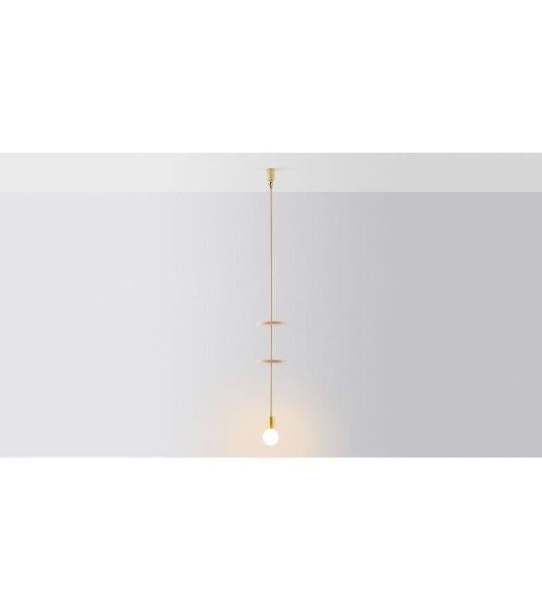 Modern Discus 2 Pendant Light by Volker Haug For Sale