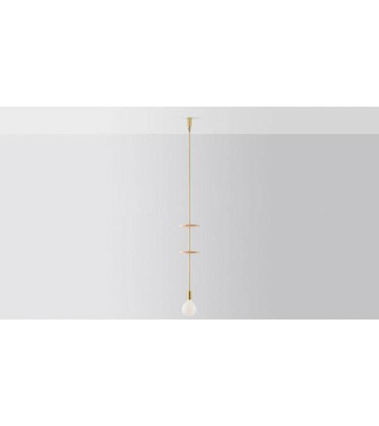 Australian Discus 2 Pendant Light by Volker Haug For Sale