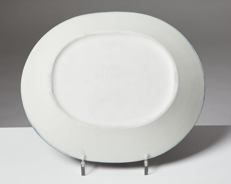 Finnish Dish Designed by Birger Kaipiainen for Arabia For Sale