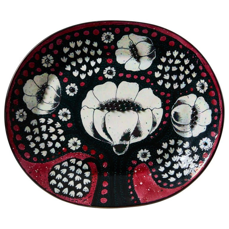 Dish Designed by Birger Kaipiainen for Arabia For Sale