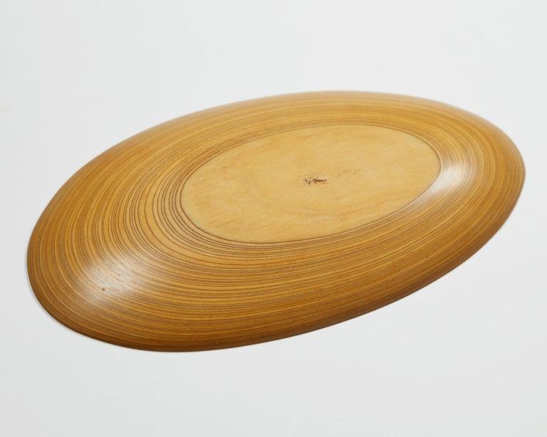 Birch Dish Designed by Tapio Wirkkala, Finland, 1950s For Sale