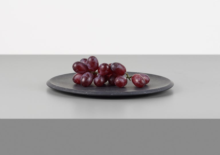 Dish in Black Marquinia Marble by Ivan Colominas, Italy For Sale 1