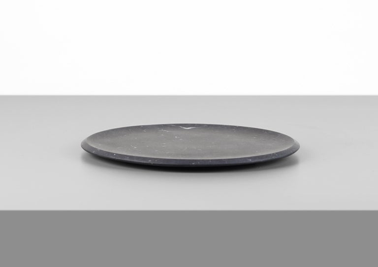 Dish in Black Marquinia Marble by Ivan Colominas, Italy For Sale 2