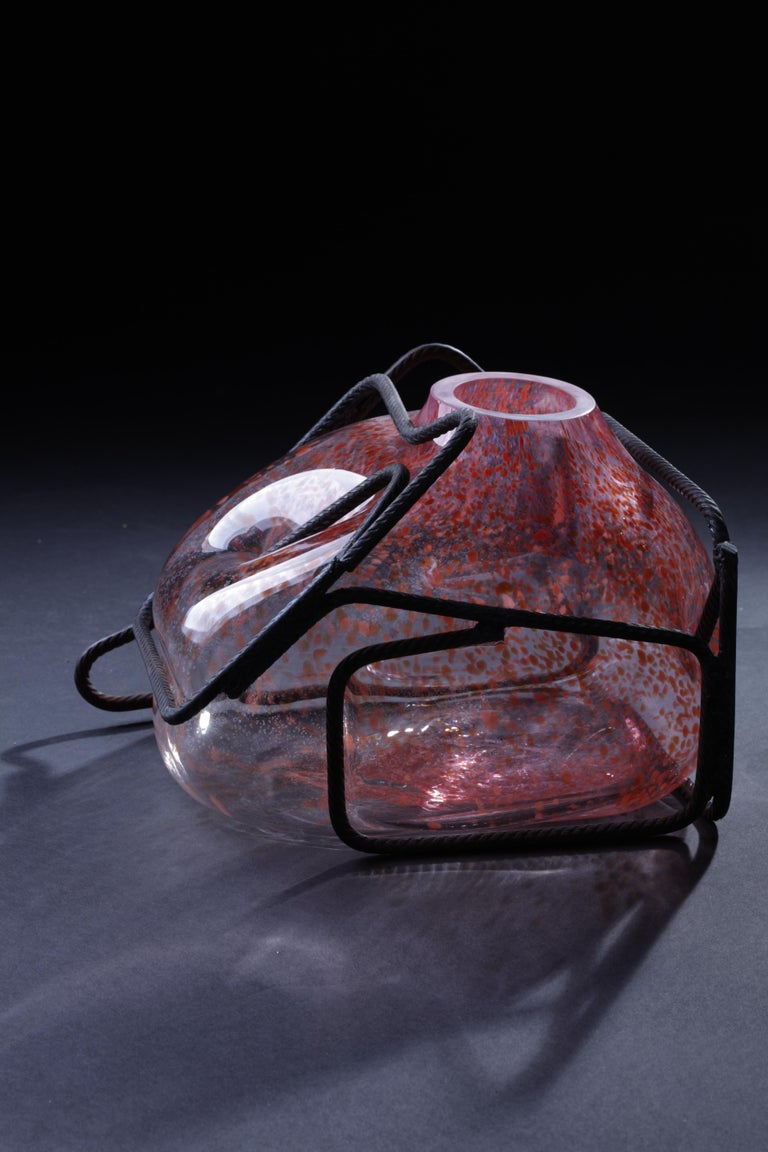 Contemporary Disillusion Ferrari / Disinganno Ferrari by Lorenzo Passi Glass and Metal Art For Sale