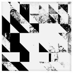 Disintegration Wallpaper in Black and White