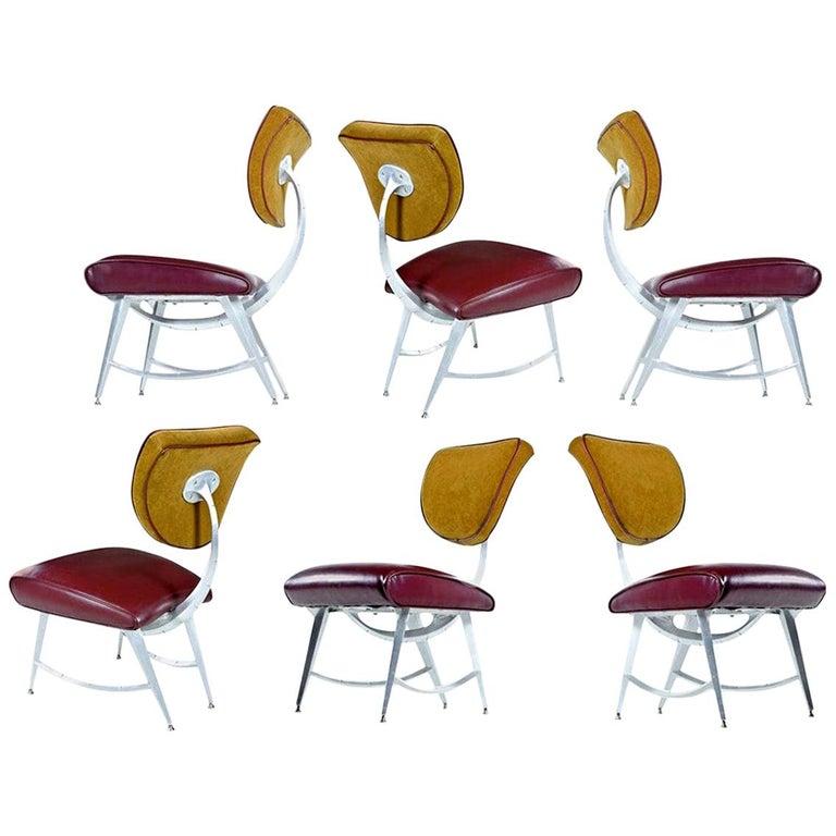 Disney Quest Aluminum Armillary Chair by Jordan Mozer For Sale