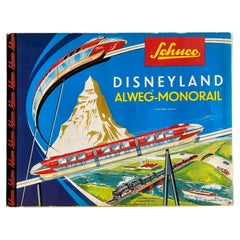 Disneyland Alweg Monorail by Schuco from the 1960s