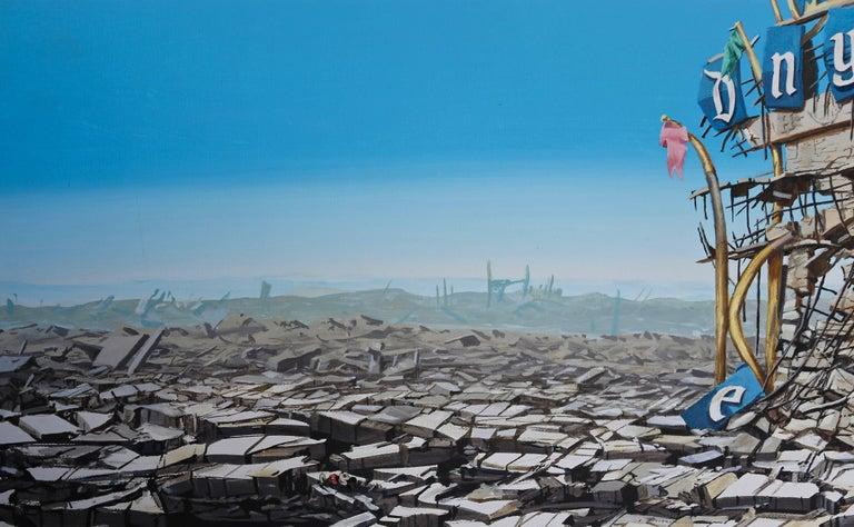 American 'Disneyland Destruction' by Jeff Gillete For Sale