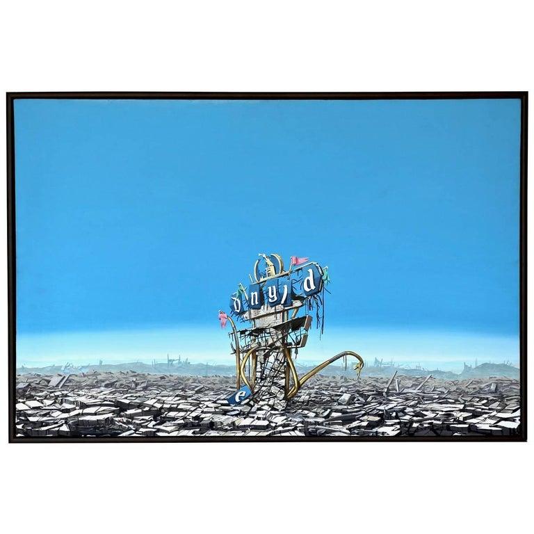 'Disneyland Destruction' by Jeff Gillete For Sale