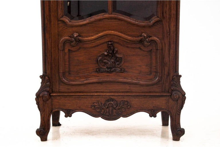 Louis Philippe Display Cabinet, France, circa 1900, Antique For Sale