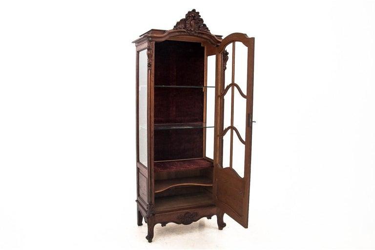 Oak Display Cabinet, France, circa 1900, Antique For Sale