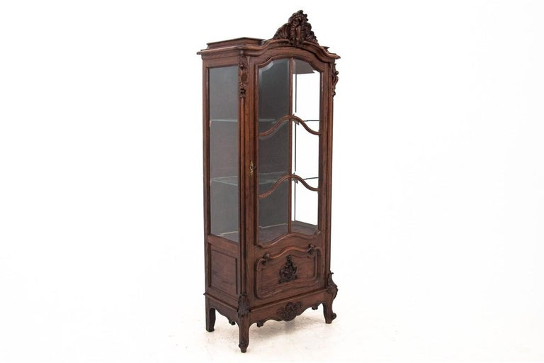 Display Cabinet, France, circa 1900, Antique For Sale 1