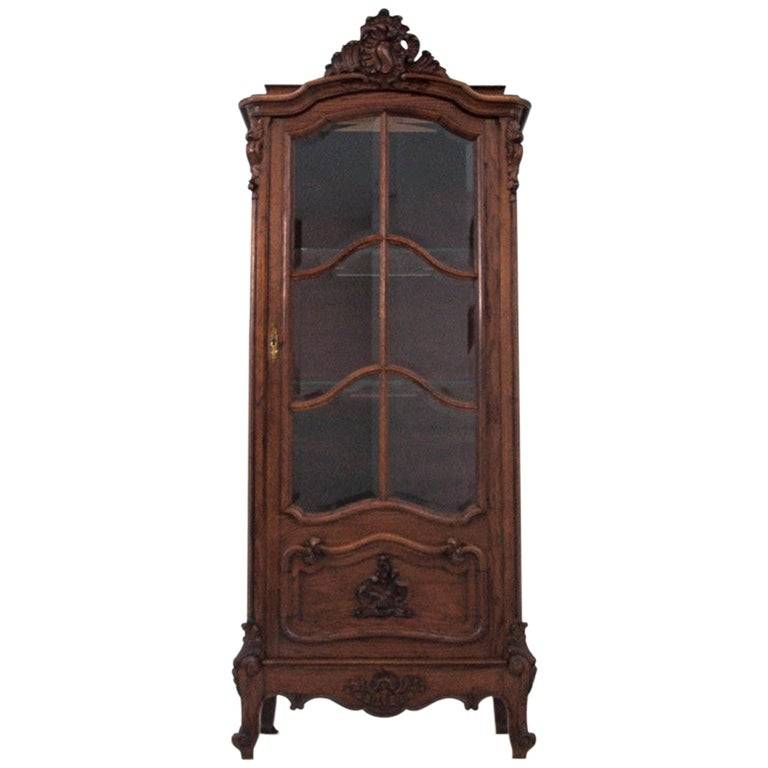 Display Cabinet, France, circa 1900, Antique For Sale