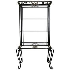 Display Cabinet, Vintage Vitrine, French Display Cabinet, Bathroom, Kitchen